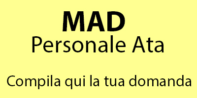 MAD Collaboratori scolastici